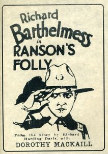 Ransons Folly [1926] [B&W] [Silent]