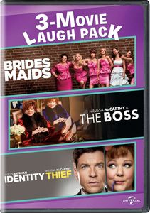 Bridesmaids/ The Boss/ Identity Thief 3-movie Laugh Pack