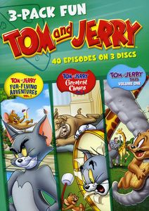 3-Pack Fun: Tom & Jerry