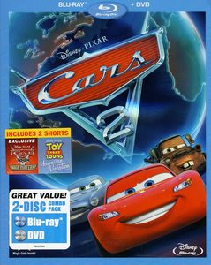 Cars 2 [WS] [2 Discs] [Blu-ray Combo Pack] [O-Sleeve]