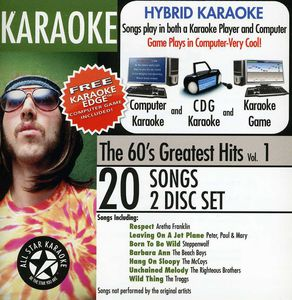Karaoke: The 60's Greatest Hits With Karaoke Edge