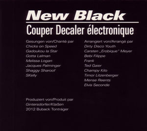 New Black: Couper Decaler Electronique [Import]