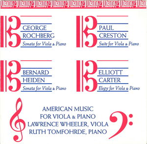 American Music for Viola & Piano