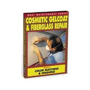 Cosmetic Gelcoat & Fiberglass Repair: Color Matchg