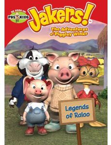 Jakers - Adventures of Piggley Winks: Legends of