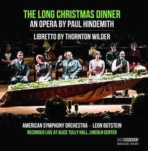 Paul Hindemith: The Long Christmas Dinner