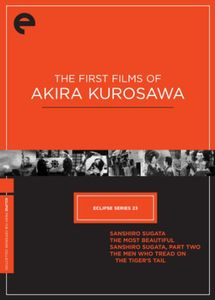 Criterion Collection: Eclipse 23 - The First Films of Akira Kurosawa[Black and White] [Full Frame] [Subtitled]