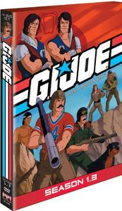 G.I. Joe Real American Hero: Season 1.3 [Full Frame] [4 Discs] [Slim Pack] [Slipcase]