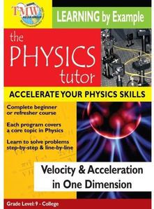Velocity & Acceleration in One Dimension