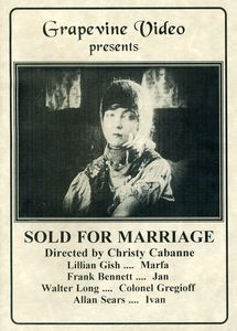 Sold For Marriage [1916] [B&W] [Silent]