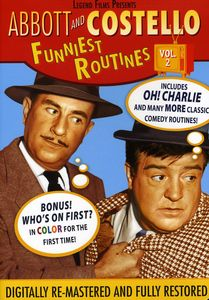 Abbott and Costello: Funniest Routines: Volume 2