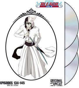 Bleach Uncut Box Set, Vol. 8 [Full Frame] [3 Discs] [Slim Pack] [Slipcase]