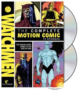 Watchmen: The Complete Motion Comics [2 Discs] [O-Sleeve] [With MovieCash]