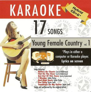Karaoke: Young Ladies Of Country, Vol. 1