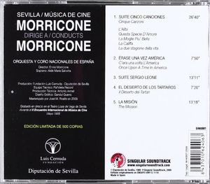 Morricone Dirige A Conducts Morricone [Import]