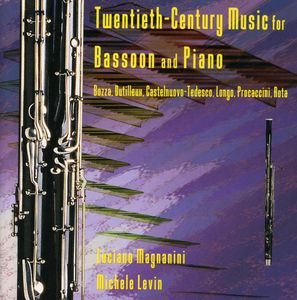Twentieth Century Music for Bassoon & Piano /  Various