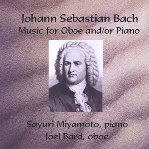 Johann Sebastian Bach Music for Oboe & Piano