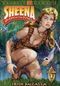 Sheena Queen Of The Jungle, Vol. 1 [Black and White]