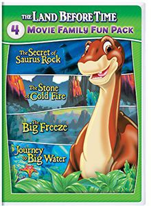 Land Before Time VI-IX 4-Movie Family Fun Pack