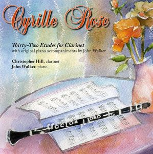 Cyrille Rose-32 Etudes for Clarinet & Piano