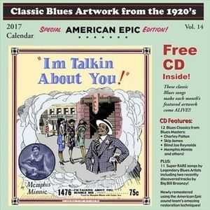 CLASSIC BLUES ARTWORK FROM THE 1920S CALENDAR (2017)