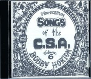 Homespun Songs of C.S.A. 6