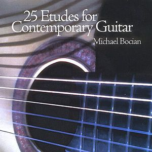 25 Etudes for Contemporary Guitar