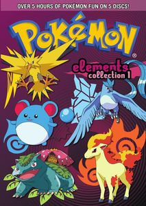 Pokemon Elements: Collection Part 1 [5 Discs] [Gift Box]