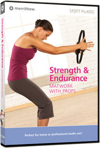Stott Pilates: Strength & Endurance: Matwork With Props Dvd, Eng