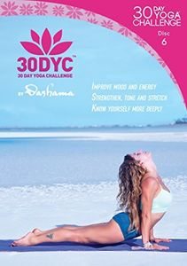30dyc: 30 Day Yoga Challenge With Dashama Disc 6