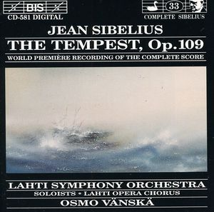Tempest /  World Premiere of Complete Score