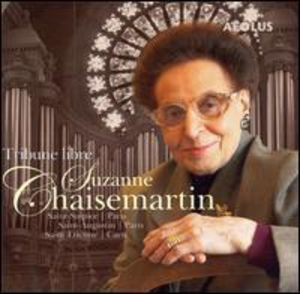 Tribute to Suzanne Chaisemartin