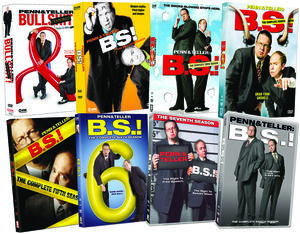 Penn and Teller: B.S.! - Eight Season Pack [20 Discs] [Edited Cover]