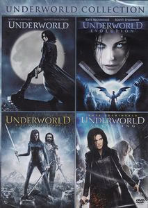 Underworld (2003)/ Underworld: Evolution/ Underworld: AwakeningUnderworld: Rise Of The Lycans