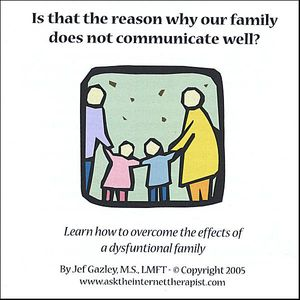 Is That the Reason Why Our Family Does Not Communi