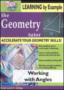 Geometry Tutor: Working With Angles
