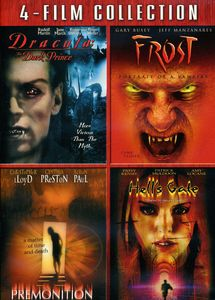 Dracula: The Dark Prince/ Frost/ Premonition [2004]/  Hell's Gate [4-Film Collection] [FS] [4 Discs]