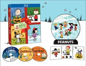 Peanuts Ultimate Holiday Collection [Full Frame] [Box Set] [With DVDs] [6 Discs] [Remastered] [Ultimate Collector's Edition] [With 3 Peanuts Window Clings and Snowglobe Lucite Lenticular]