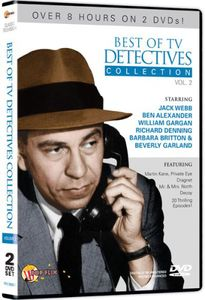 Best Of TV Detectives Collection, Vol. 2 [2 Discs] [B&W] [Amaray]