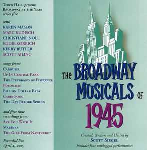 Broadway Musicals Of 1945