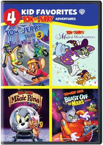 4 Kid Favorites: Tom & Jerry Adventures