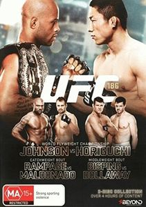 Ufc: 186 Johnson Vs Horiguchi [Import]
