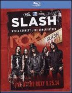 Slash /  Live at the Roxy 9.25.14 (Bluray) [Import]