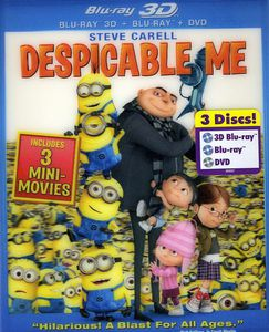 Despicable Me [3D] [Blu-ray 3D/ Blu-ray/ DVD Combo] [Repackaged]