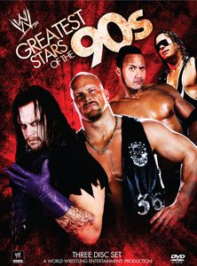 WWE: Greatest Stars Of The 90's [Full Frame] [3 Discs] [Digipak]