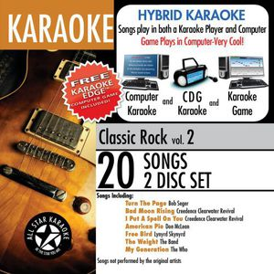 Karaoke: Classic Rock with Karaoke Edge 2 /  Various