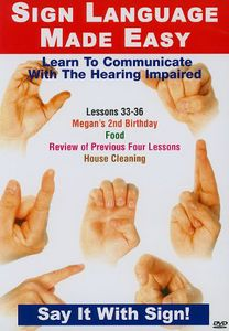 Sign Language Series 33-36