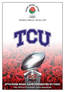 2011 Rose Bowl-Wisconsin Vs Tcu