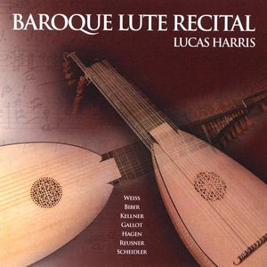 Harris, Lucas : Baroque Lute Recital