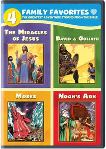 4 Family Favorites: The Greatest Adventure Stories From the Bible